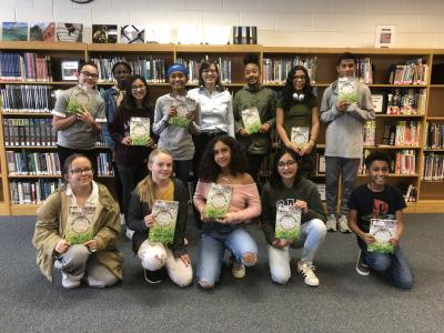 students win books